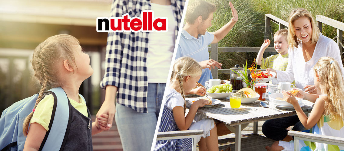 Help Nutella spread positivity in families!