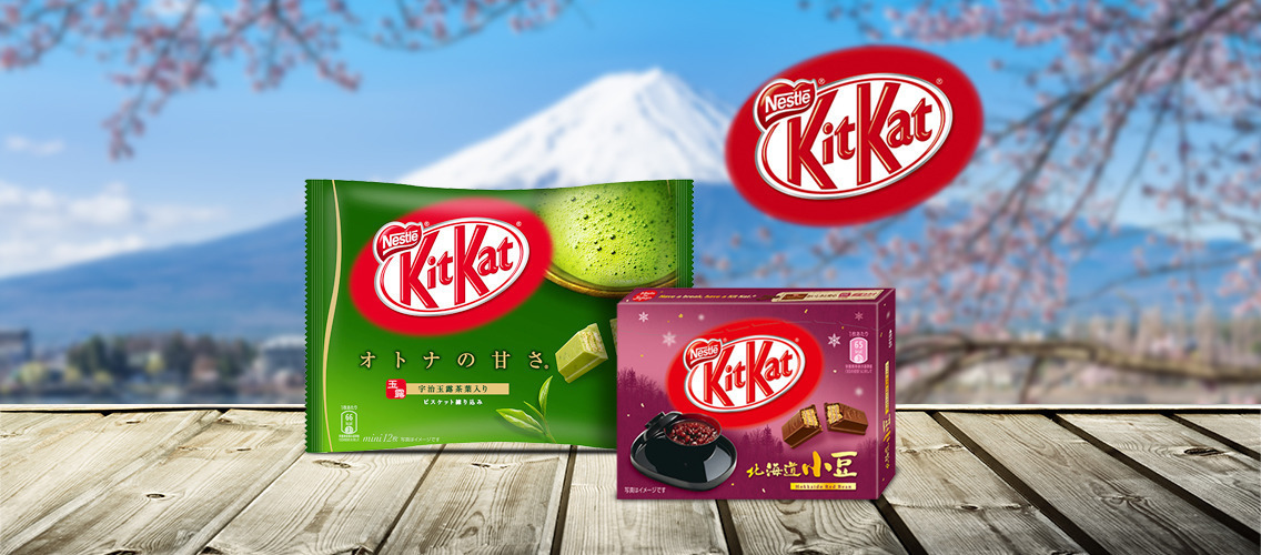 Share the spirit of Japanese creativity with unique local Kit-Kat flavors!