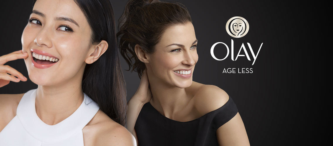 "Fight the number 1 cause of premature aging with Olay UV Blocker and stay ""ageless""."