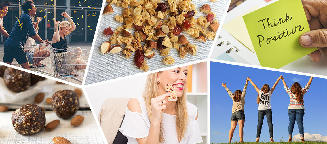 Create a new healthy snacking brand to help people feel balanced and in tune with themselves