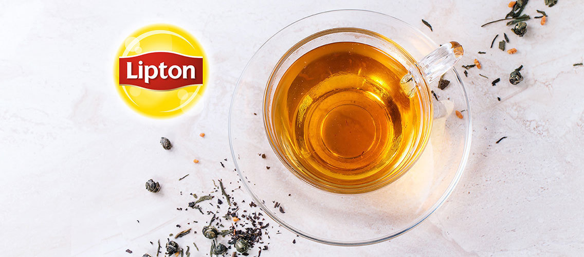 How can we represent clash of cultures through Lipton tea's new packaging design in China?