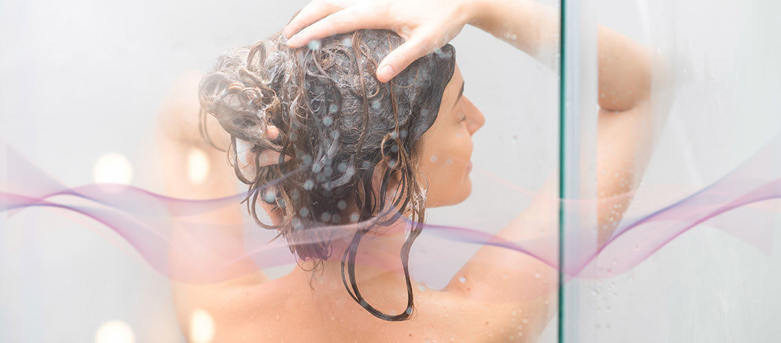 Help us visualize an augmented, multi-sensorial shampoo experience powered by fragrance!