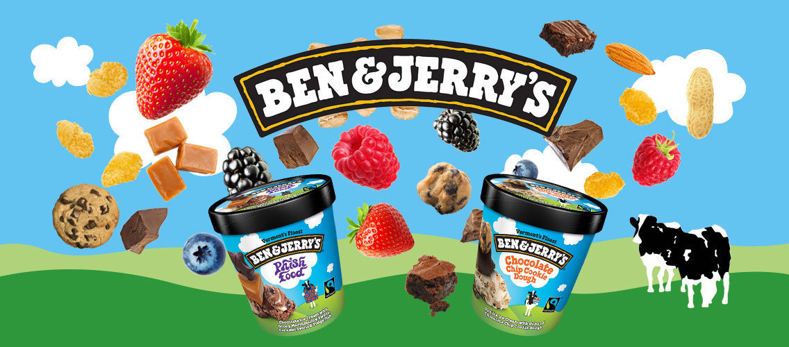 Invent the next hit for Ben & Jerry's