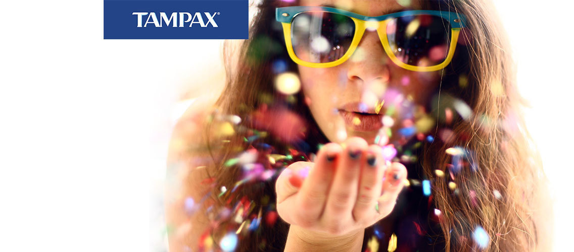 Small and powerful – Tampax Pearl tampons empower women during their periods!