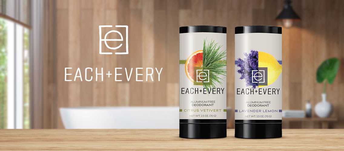 Can you help introduce Each & Every clean deodorant to natural consumers?