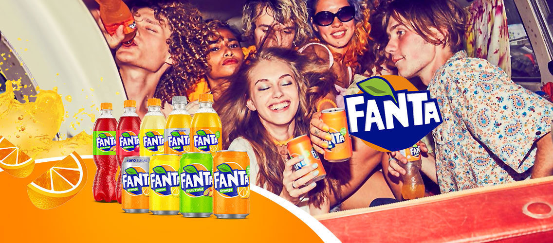 Invent a new Fanta drink or pack that will excite teens!