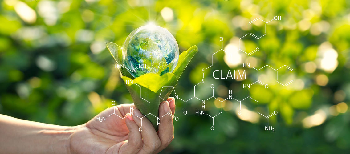 Come up with the next claim on sustainable formulas in the skincare category!