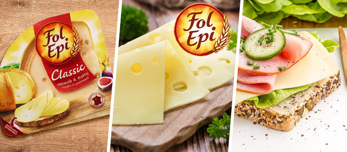Outstand the French Finesse of Fol Epi to awake the consumers' senses!