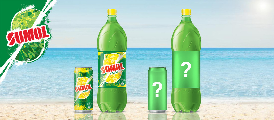 Spread Sumol's sunny optimism with an engaging limited edition packaging!