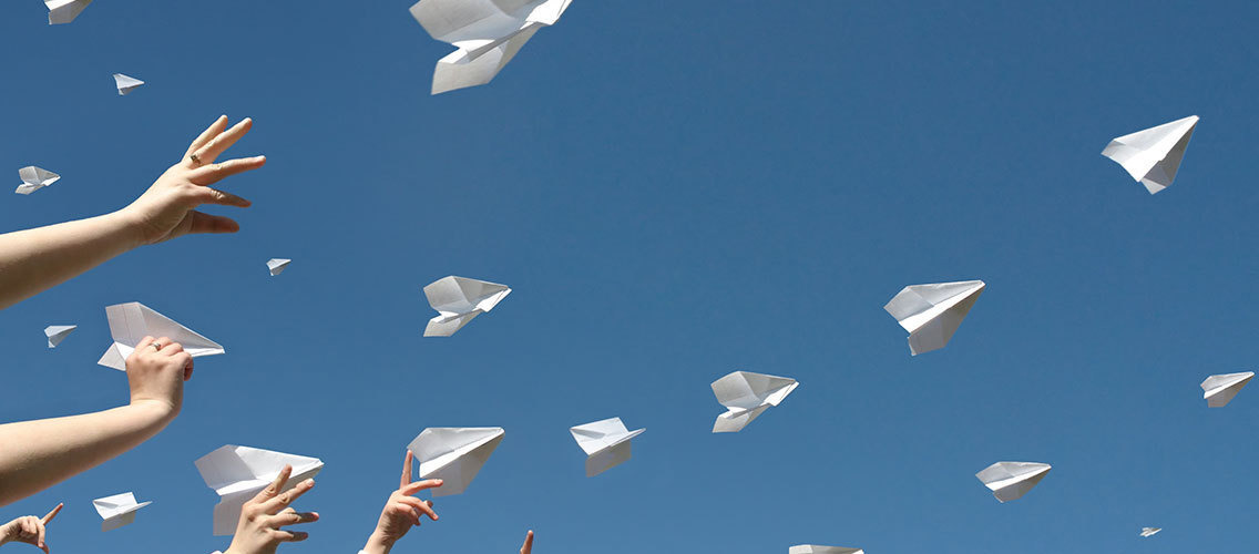 Imagine services or products which will enchant end-customer's relationship with paper mail