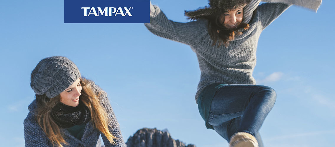Show us that Tampax provides the best protection for young women!