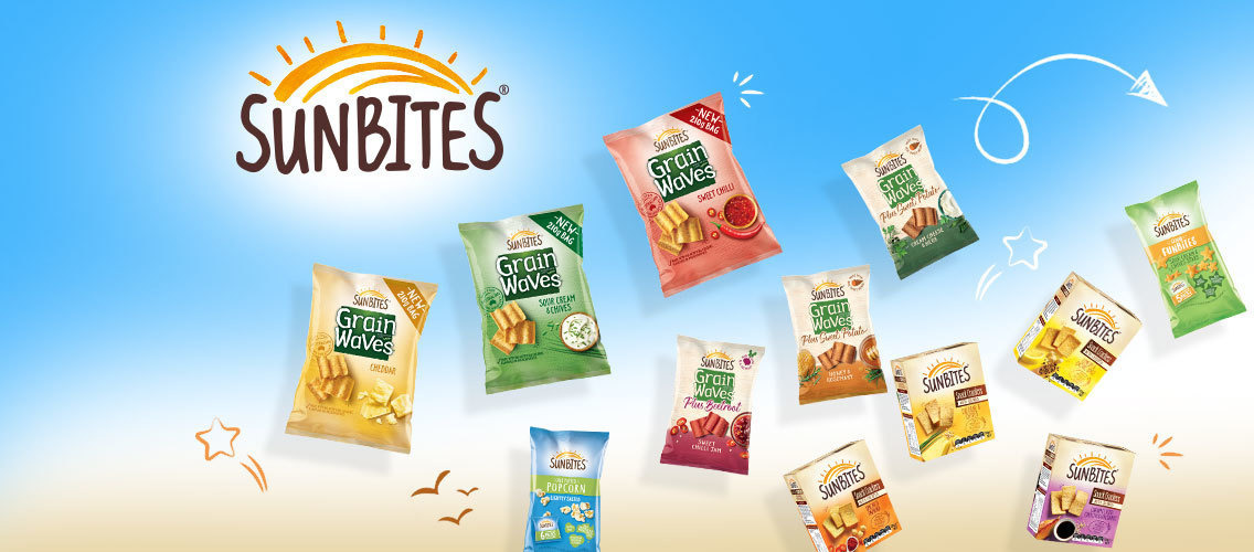 Show us the real stopping power of Sunbites snacks