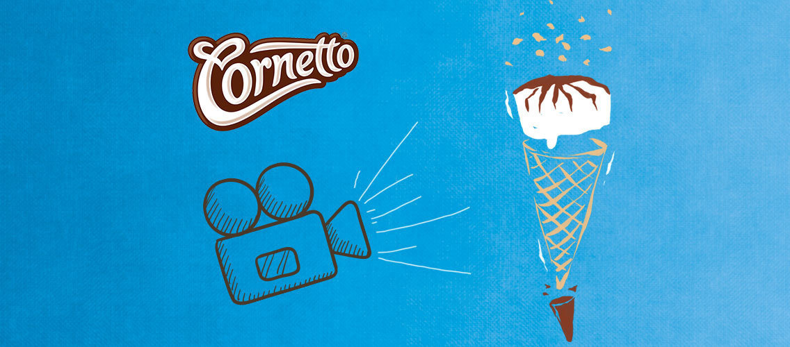 Create a video to make teens fall in love with Cornetto in 15 seconds!