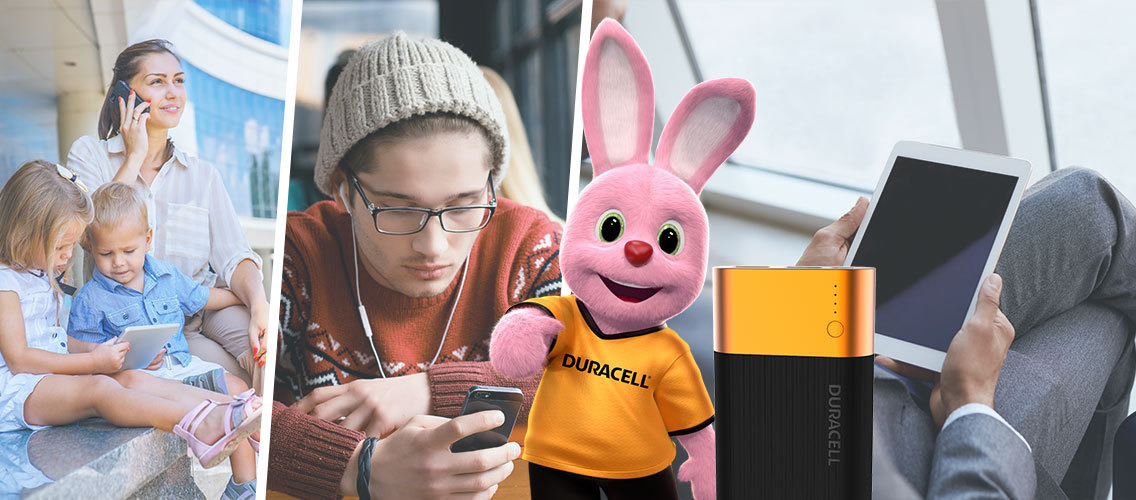 Show us how Duracell portable charger can change your life!