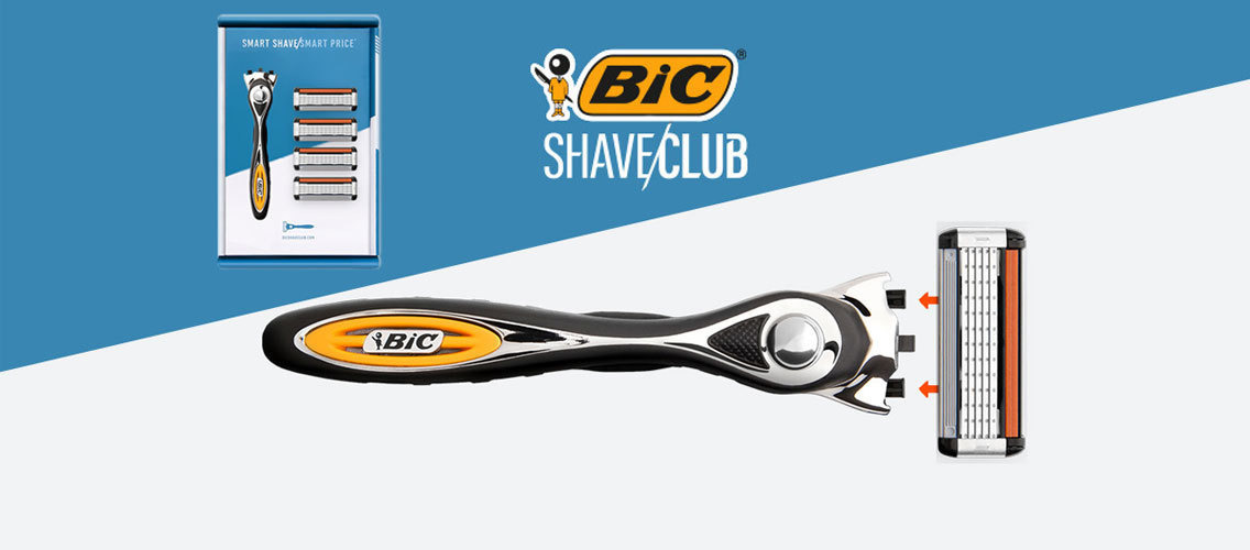 Help BIC Shave Club communicate the revolution it brings to men's shaving