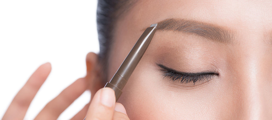 Invent a breakthrough new skill minimizing eyebrow product to achieve natural looking eyebrows