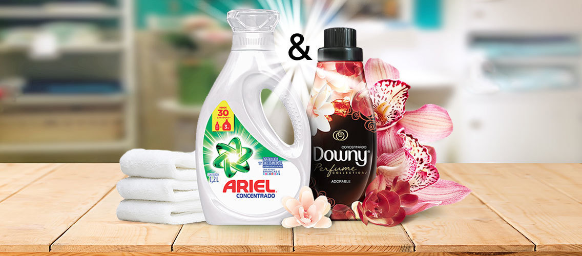Convince people that Downy and ARIEL are the perfect match and should be part of their laundry routine.