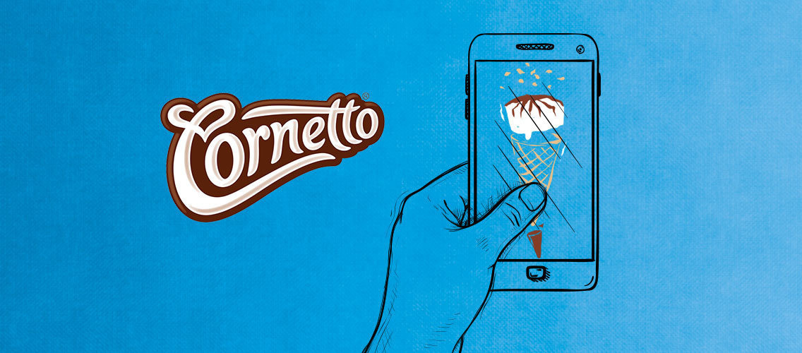 Contest name: Cornetto social media – When Creamy met Crunchy