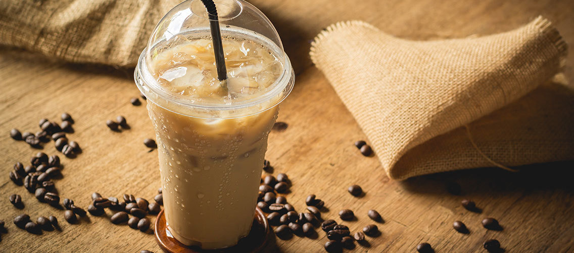 Create a range of cold ready-to-drink coffee beverage for an afternoon break!