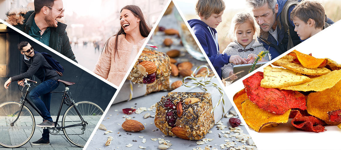 Create a new healthy snacking brand to help people feel youthful and full of life