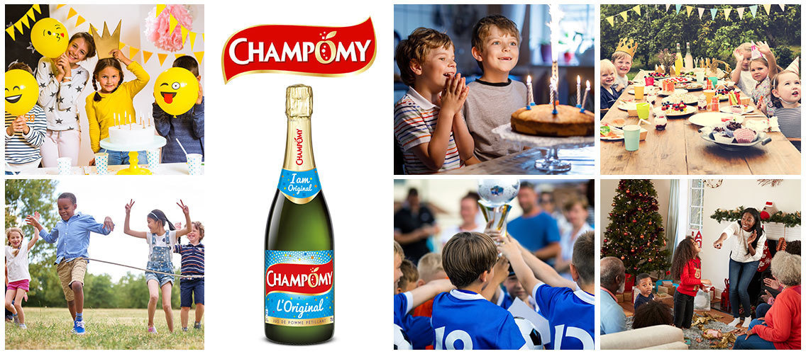 Revamp the Champomy bottle to spark festive moments for kids and families