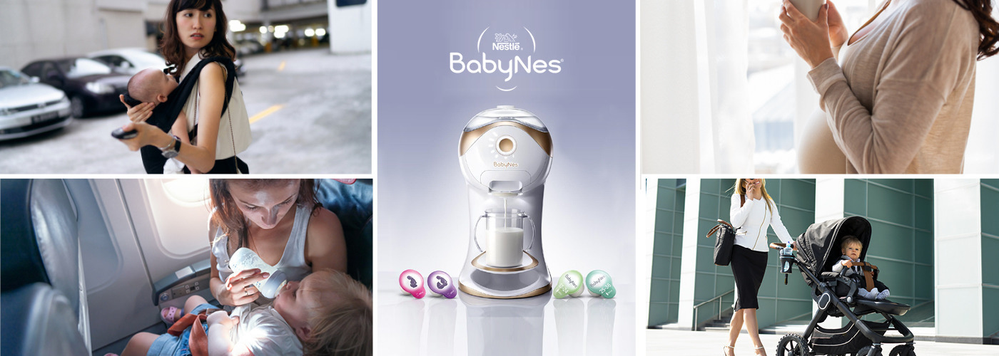 Invent a new, best-in-class, portable nutrition solution for busy moms & their babies.