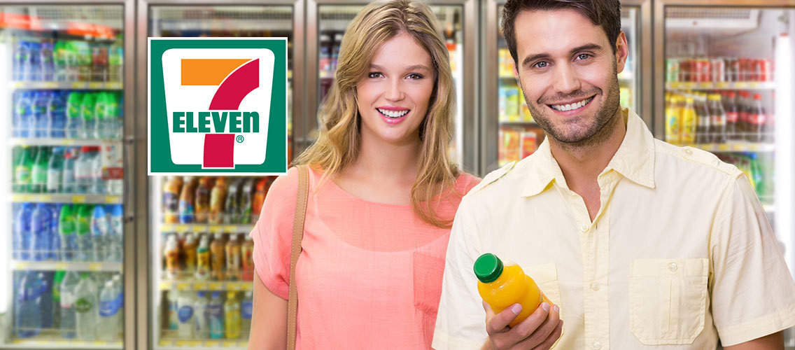 Make everyone entering a 7- Eleven buy a cold drink!