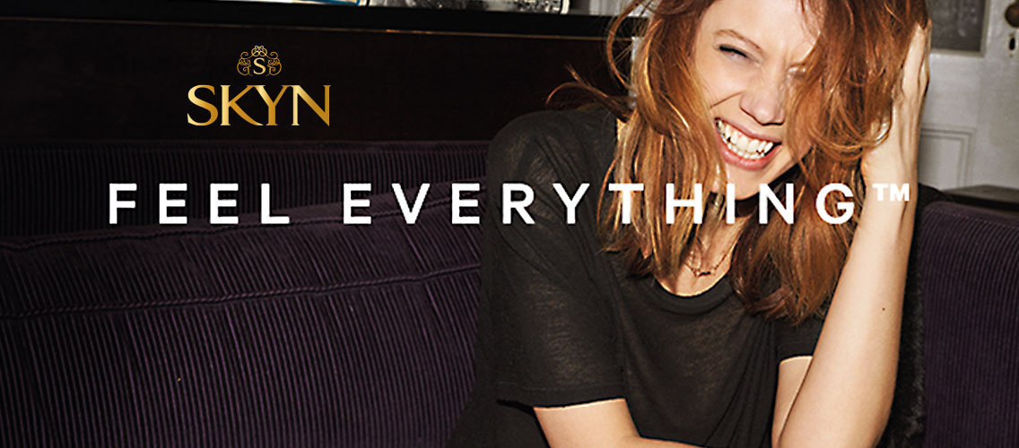 Feel Everything™ with SKYN®!