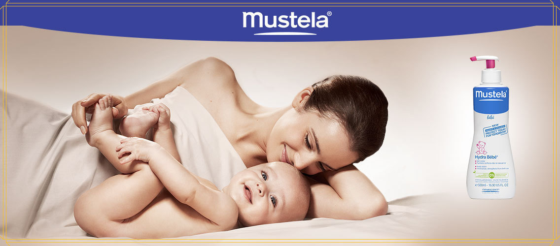 Show us how Mustela could be part of an essential caring moment between babies and their parents.