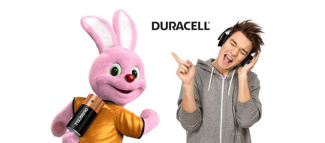 Celebrate the unstoppable energy of Duracell in an emotional way!