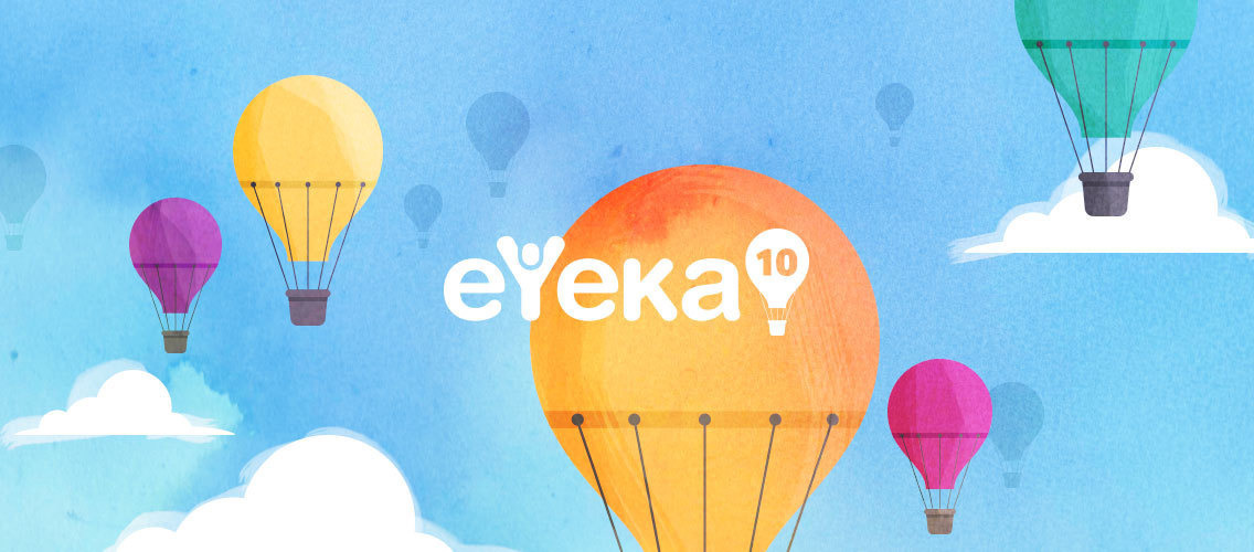 Celebrate eYeka's 10th anniversary by pepping up the homepage with your own style!