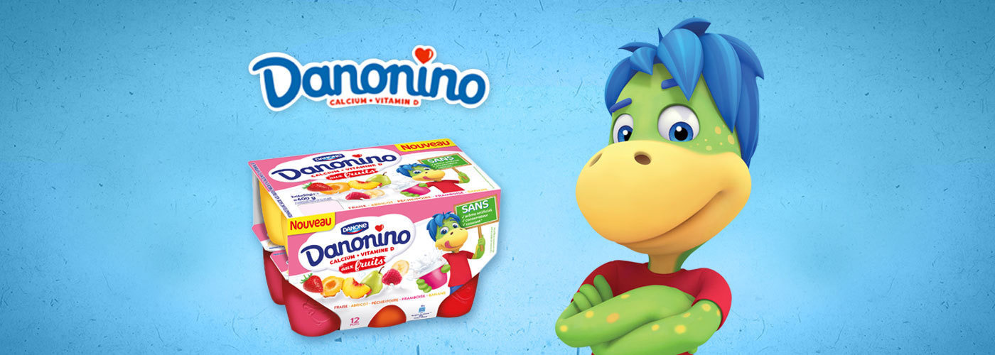 Create an overwrap packaging for Danonino that encourages kids' autonomy!