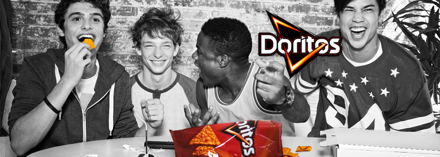Create a special edition of the Doritos packaging and create a buzz!