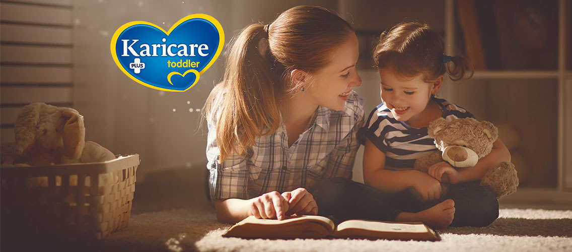 Re-design Karicare Toddler's packaging to instantly convince mums that it's both very gentle on little tummies and packed with nutritional benefits.