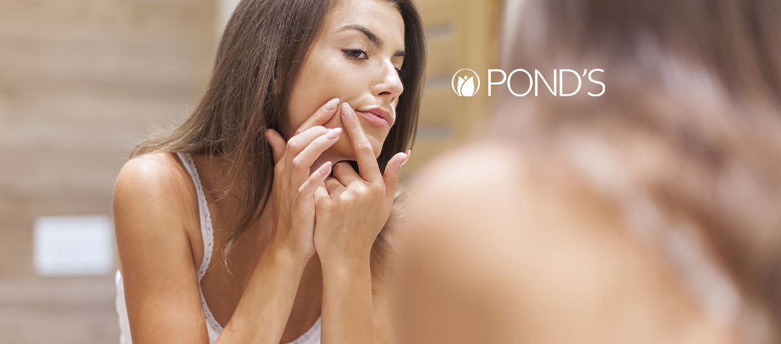 Give us a disruptive demo idea for Pond's Acne Clear!