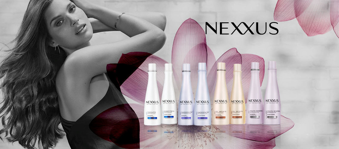 Design a unique packaging for Nexxus shampoo and conditioner.