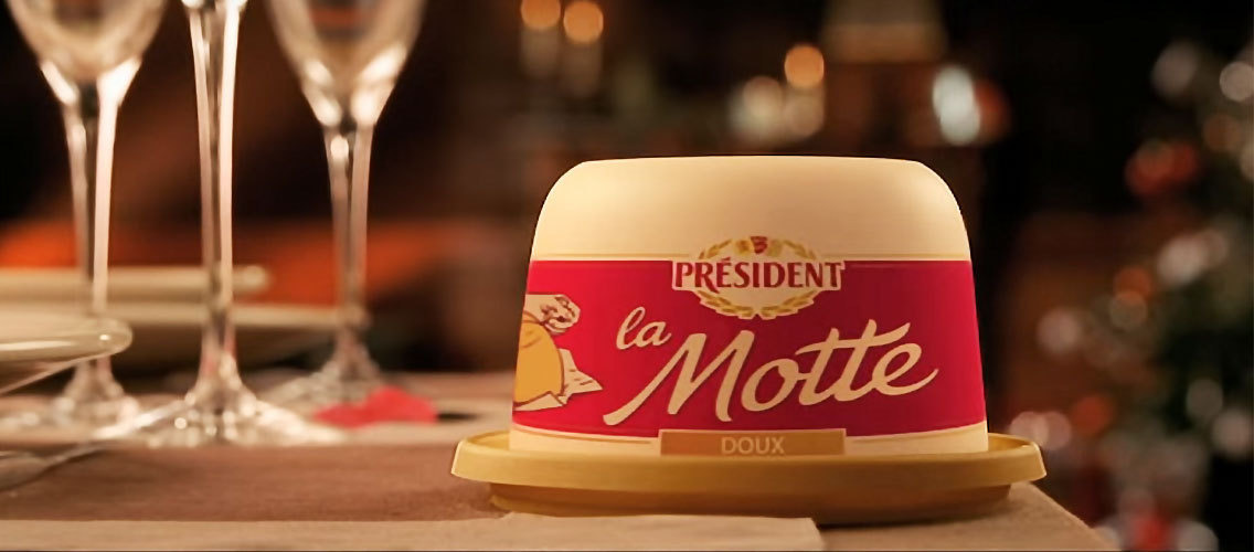Enhance your tables for the holiday season with a new festive design for La Motte Président.