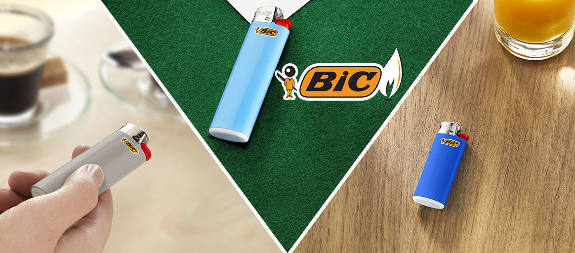 Show people how choosing a BIC Lighter can make a big difference to their lives