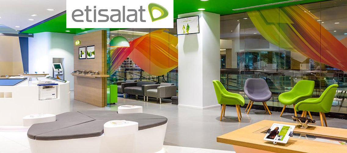 Show us what Etisalat's Telecom store of the future will look like!