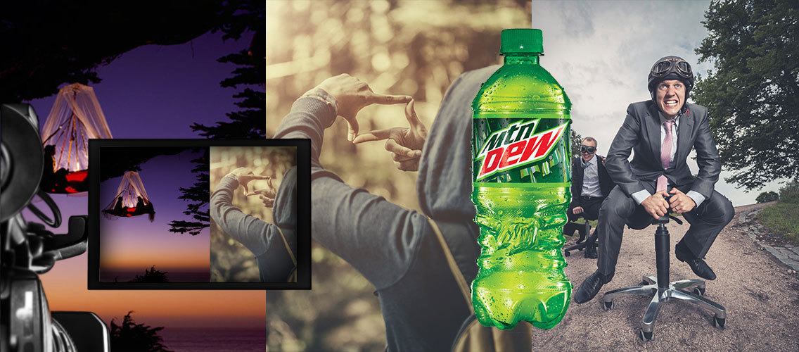 "Mountain Dew – ""It doesn't exist until you do it""."