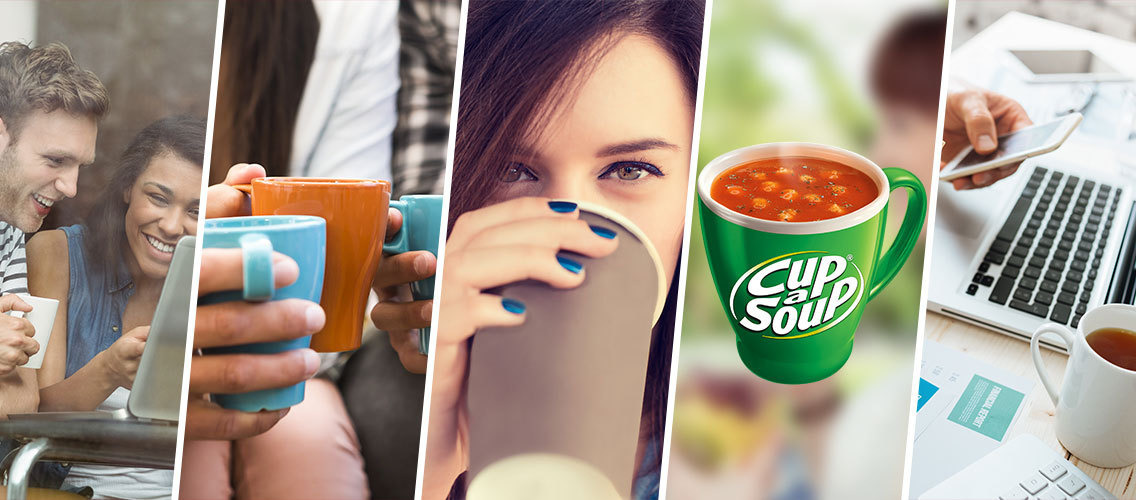 Change people's perception of Cup-a-Soup from boring to fun and exciting.