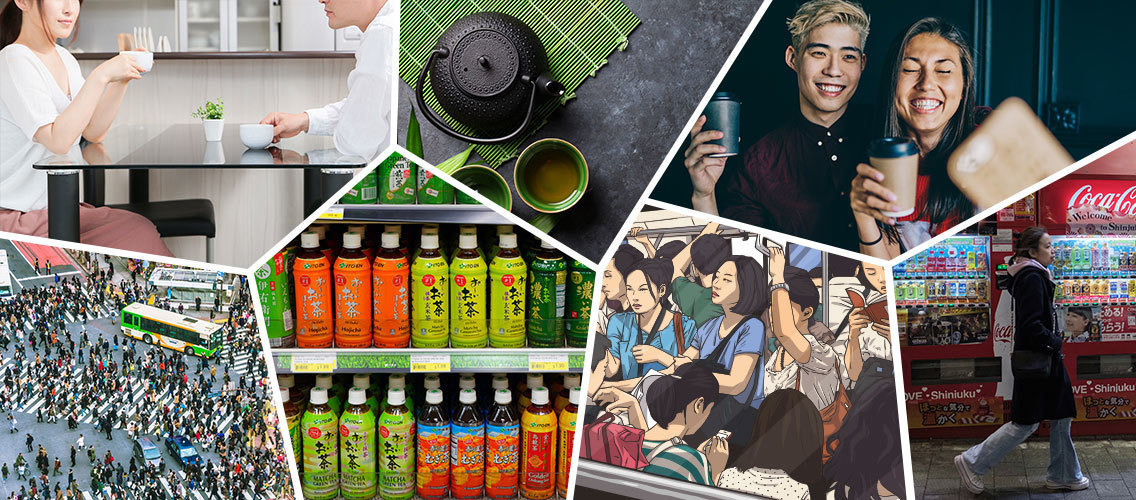 Create distinctively new ways to delight Japanese green tea consumers