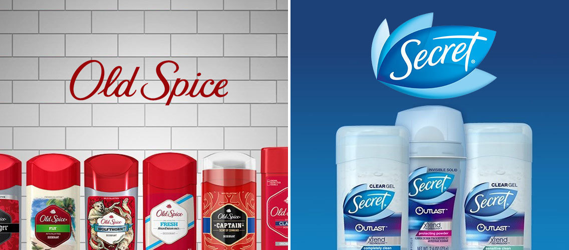 Reinvent the way Secret or Old Spice talk about sweat & odor protection.