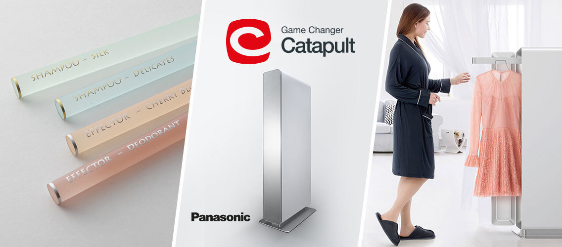 What exciting IoT features can Panasonic's new clothing care machine offer to delight women?