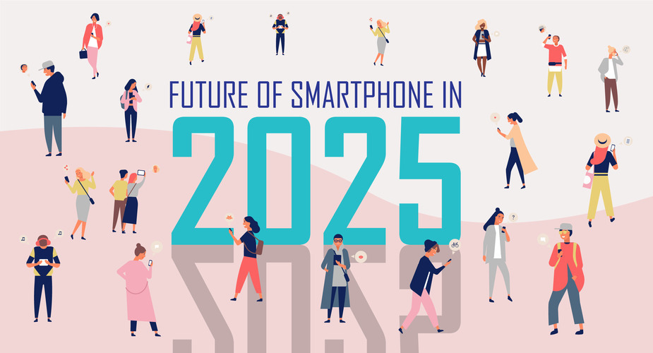 Design a future smartphone that changes our lives again, in 2025