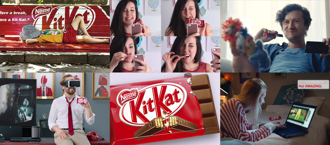 A KITKAT a day, keeps the drama away