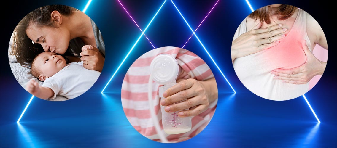 Invent a new type of electronic breastmilk pump that will make the breastfeeding experience special and prevent moms from having fears and doubts!
