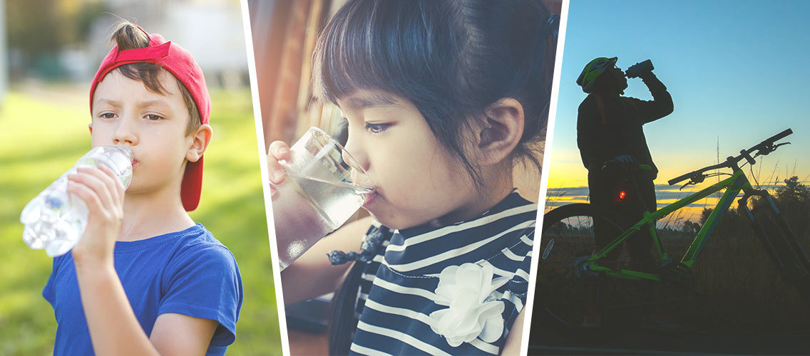 How can we make a water brand exciting and attractive to kids aged 5 to 10?