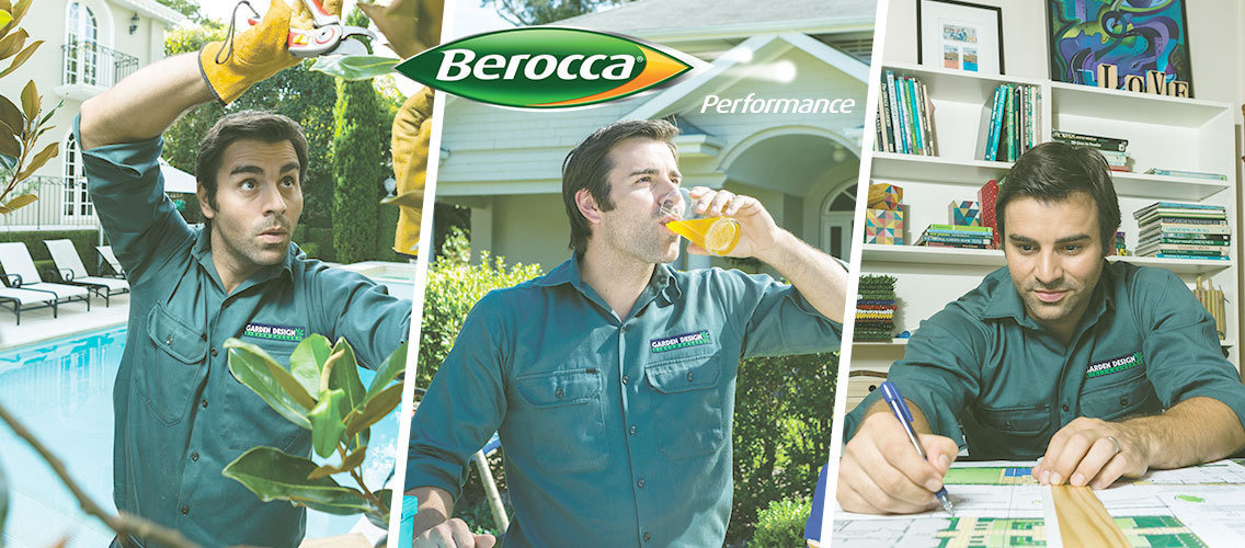 Through a video, show us how to creatively tell active people that daily consumption of Berocca can give them the edge to get ahead.