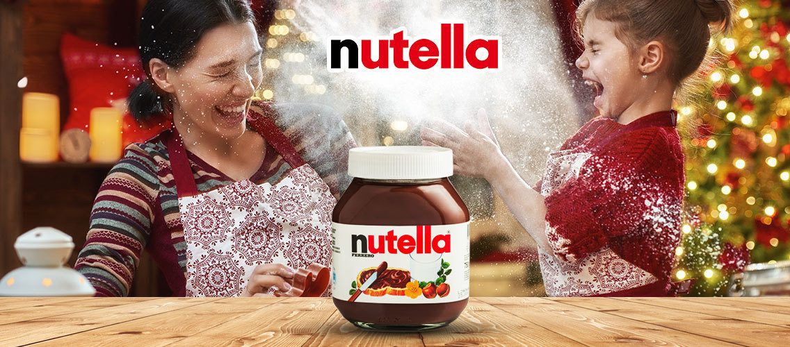 Nutella brings more intensity to family moments at Christmas